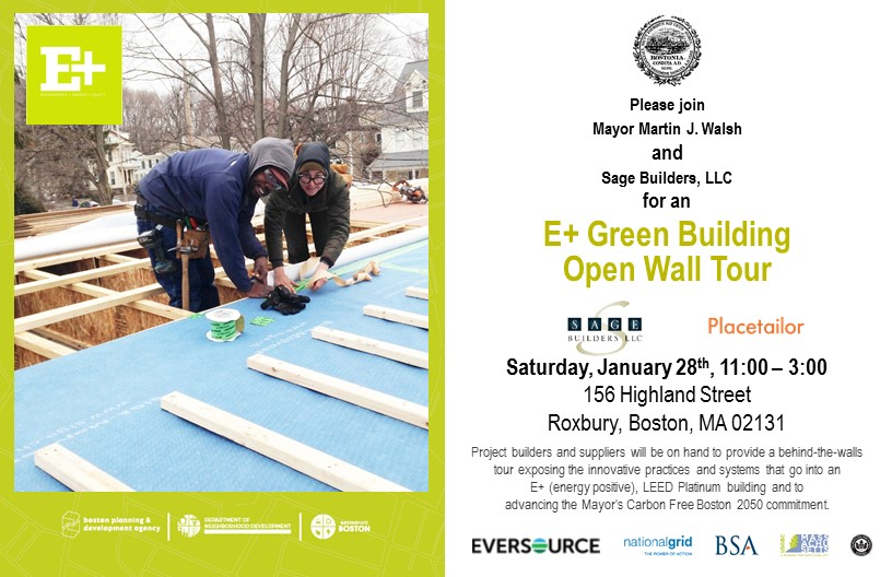 E+ Green Building Open Wall Tour